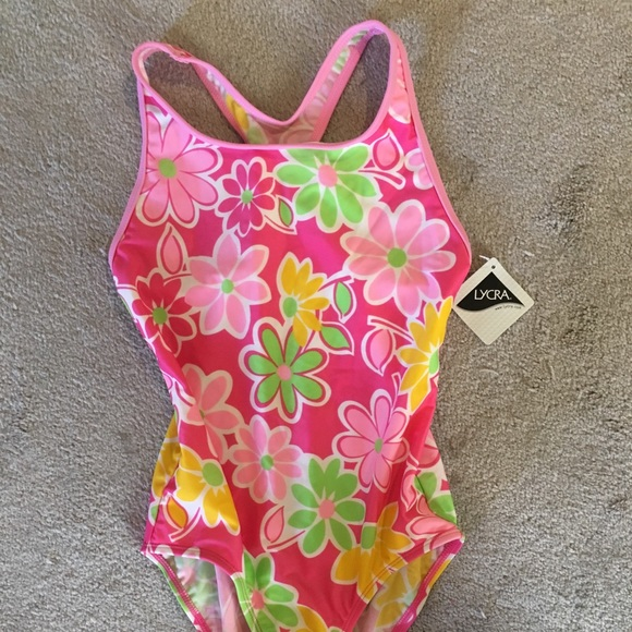796a3048de188 L.L. Bean Swim   Bogo Nwt Llbean Racerback Bathing Suit Girls 10 ...